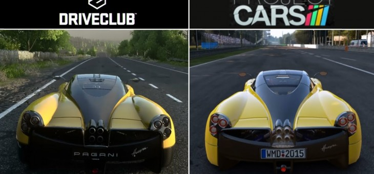 Project CARS vs Drive Club